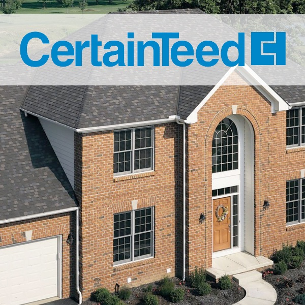 CertainTeed Roofing Materials Residential Roofing